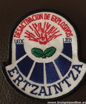 DESACTIVACION EXPLOSIVOS ERTZAINTZA
