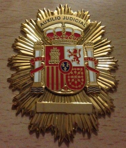 Placa de Auxilio Judicial