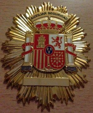 Placa de Auxiliar de Seguridad