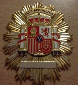 Placa de Jefe de Seguridad