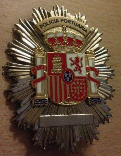 Placa de la Policía Portuaria