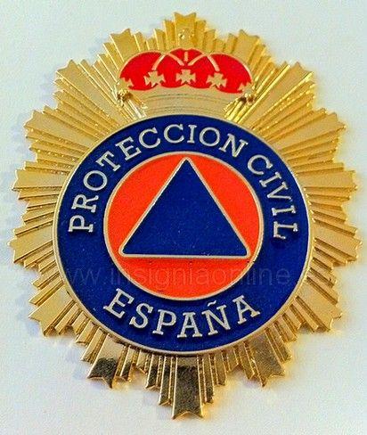 PLACA DE PROTECCIÓN CIVIL