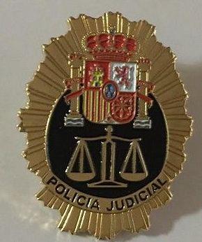 INSIGNIA DE LA POLICIA JUDICIAL