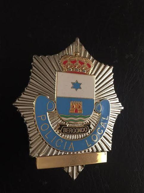 PLACA POLICIA BERGONDO-LA CORUÑA