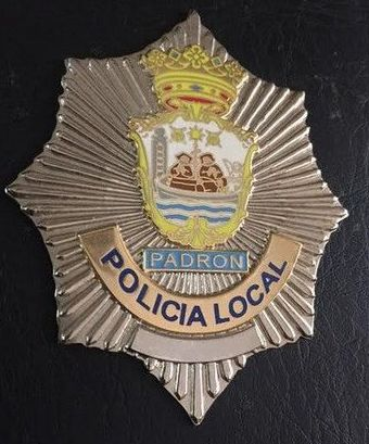 PLACA POLICIA MUNICIPAL PADRON (LA CORUÑA)