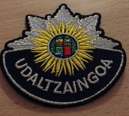 Escudo Bordado Udaltzaingoa Eguzkilore