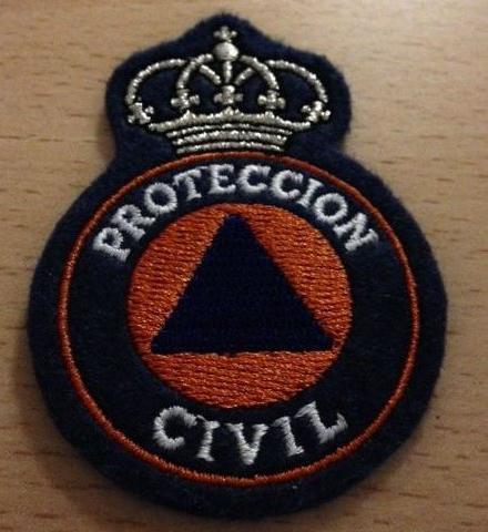 Emblema Bordado Protección Civil