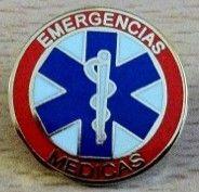 Insignia de solapa de Técnico en Emergencias Médicas