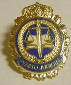 Insignias de solapa de Perito Judicial