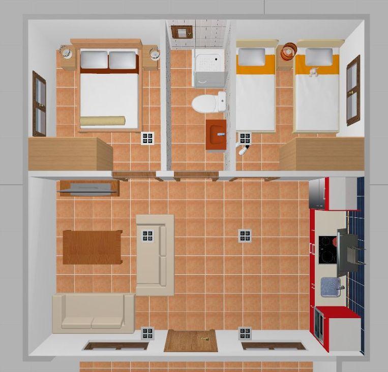 Casas de madera con planos free casa de madera de cedro - Planos casa madera ...