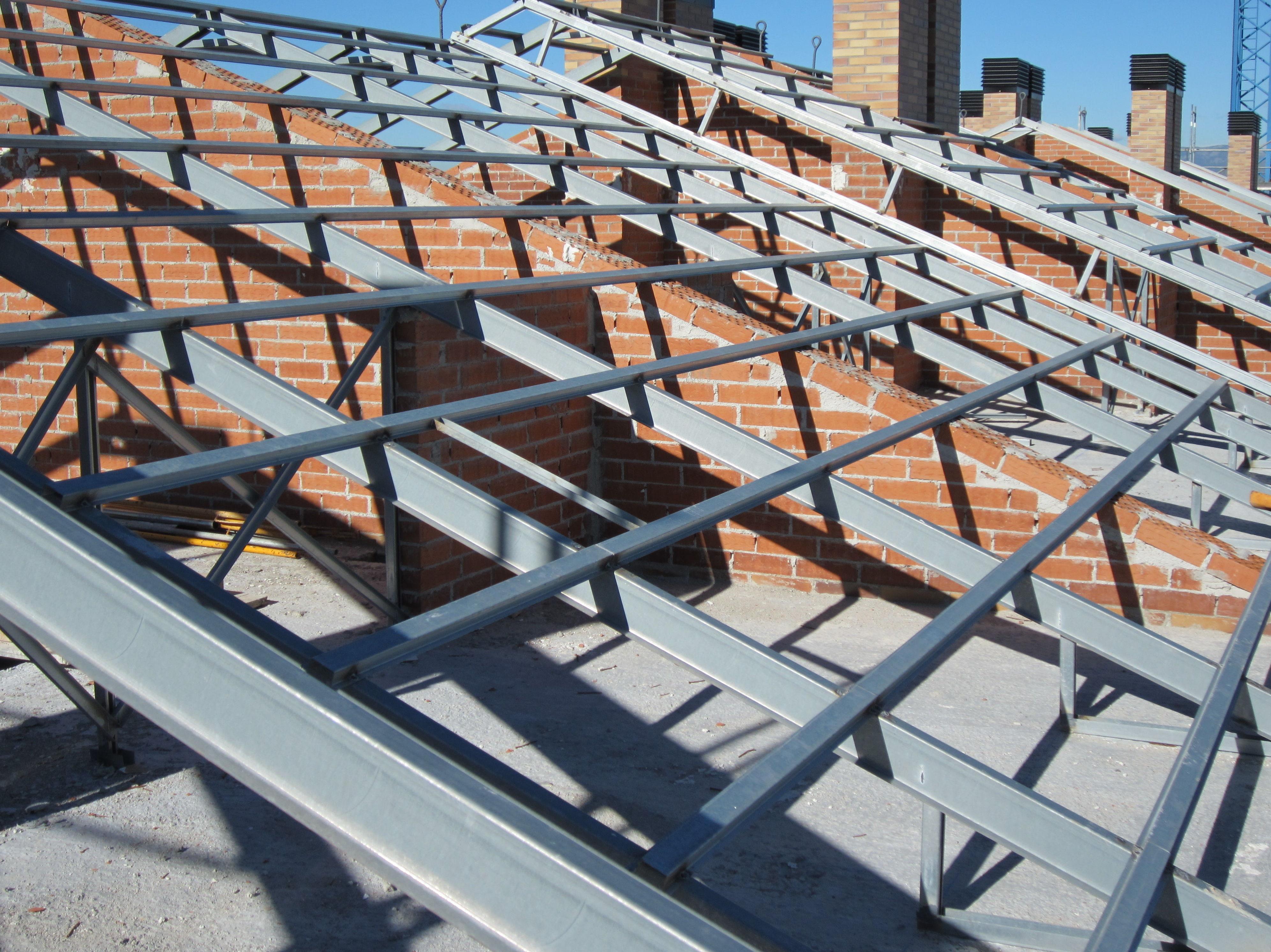 Forjado estructura metalica trendy bueno tambin he for Forjado estructura metalica