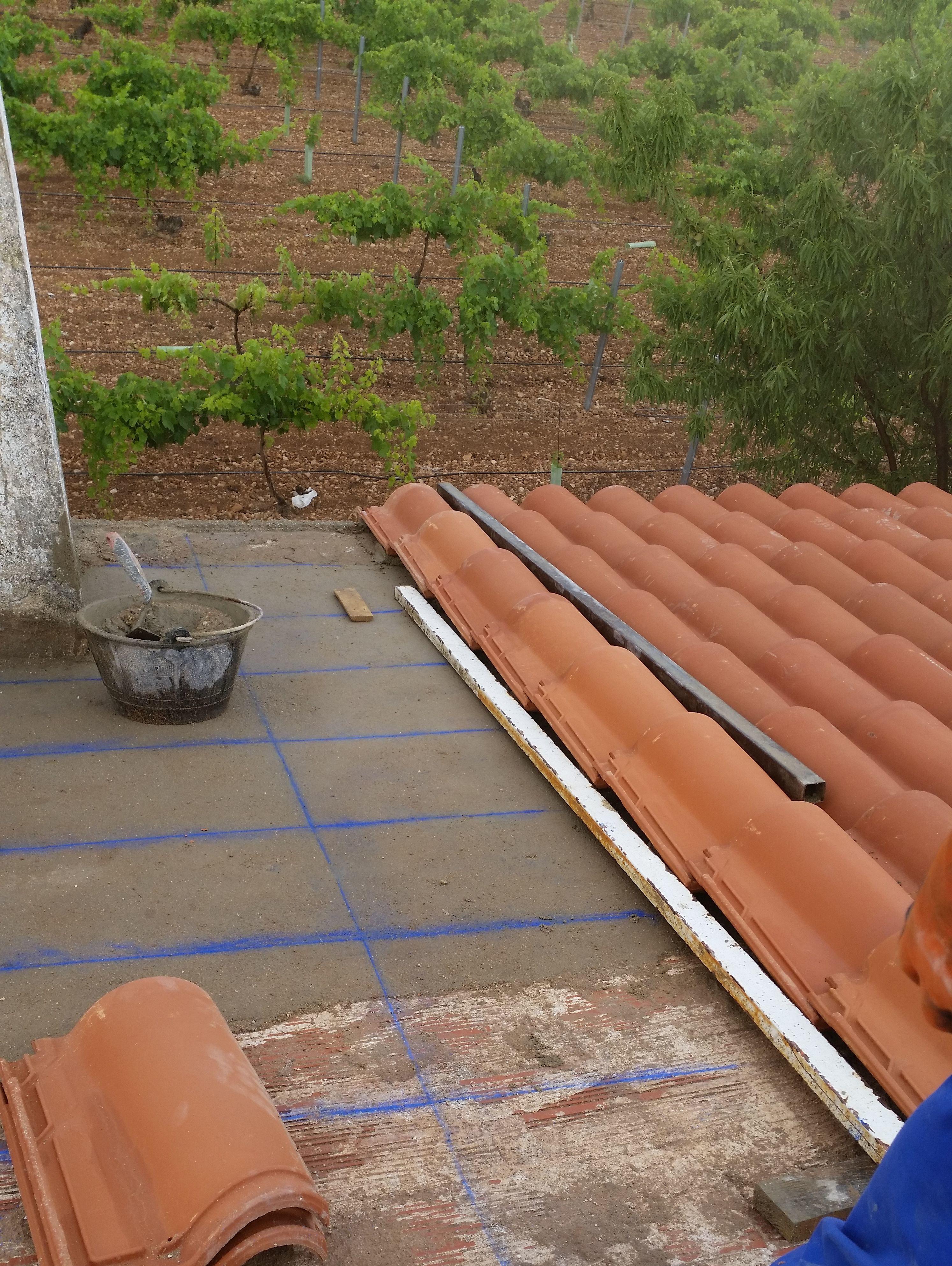 Foto 6 de canalones en tomelloso canaltom - Caucho para tejados ...