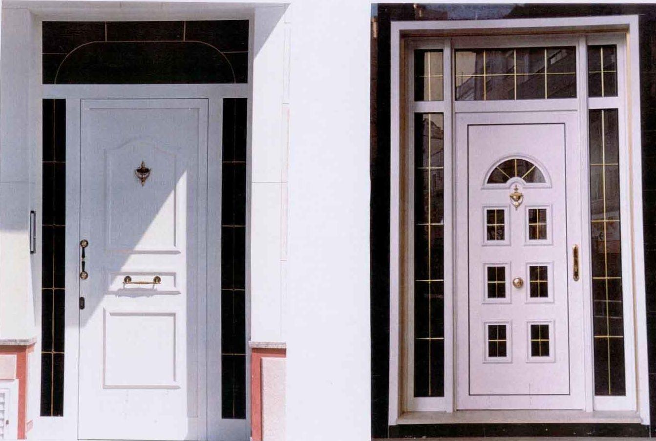 Puertas de entrada de aluminio productos y servicios de for Puertas de calle aluminio precios