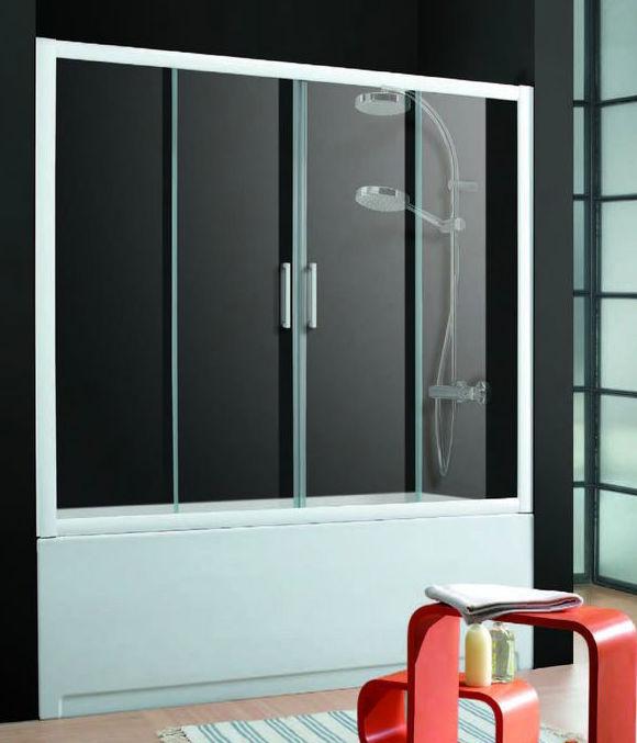 Puertas Correderas De Aluminio Para Baño:Mampara de baño con puertas correderas: Productos y servicios de