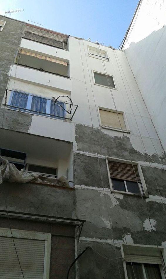 Impermeabilizaciones y revestimientos en fachadas sin andamios.