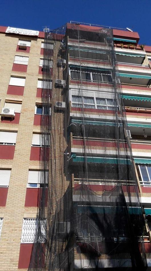 Rehabilitación de fachadas en edificios de Córdoba