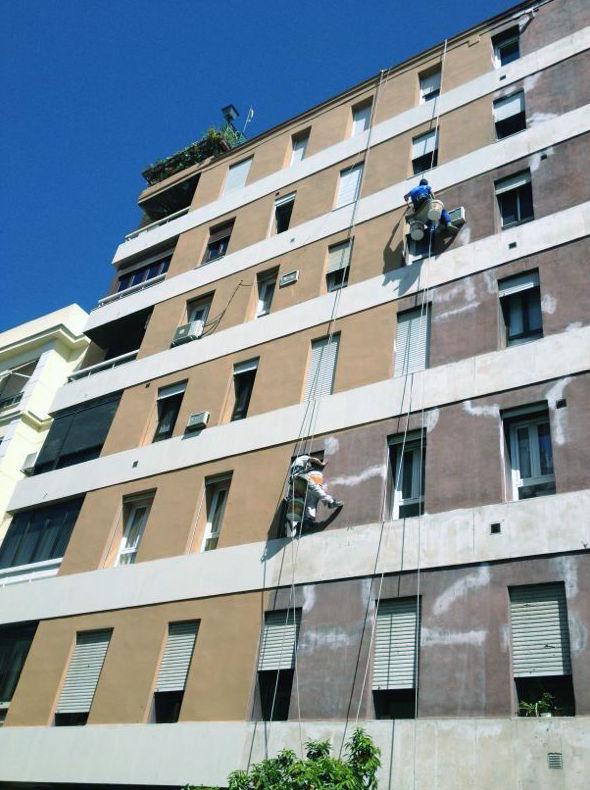Pintura de fachadas sin andamios en Córdoba