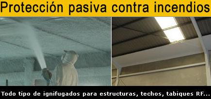 Protección pasiva contra incendios