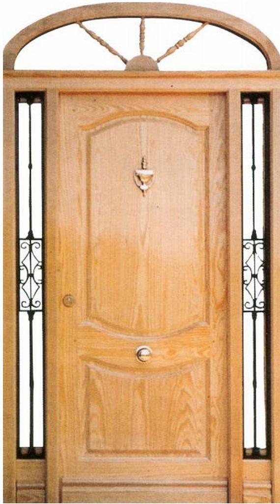 Puertas y ventanas de madera fabrica y venta valera de for Fabrica de puertas de madera