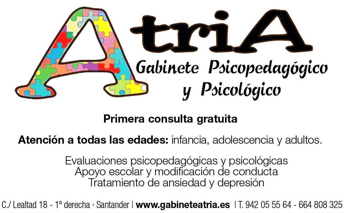 Foto 2 de Psicólogos en Santander | Gabinete Psicopedagógico y Psicológico Atria