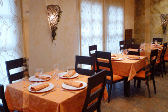 Restaurante con platos de primera calildad