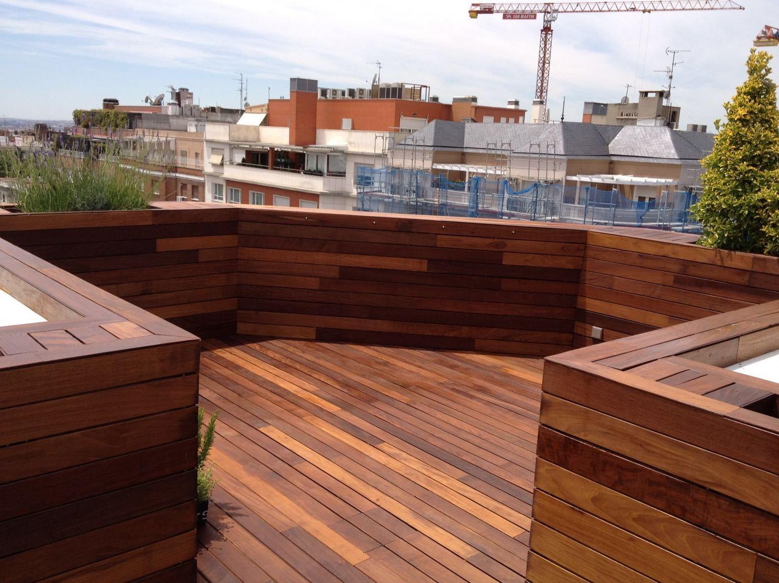 Suelo de madera para terraza piso para bao de maderapiso for Suelo terraza madera