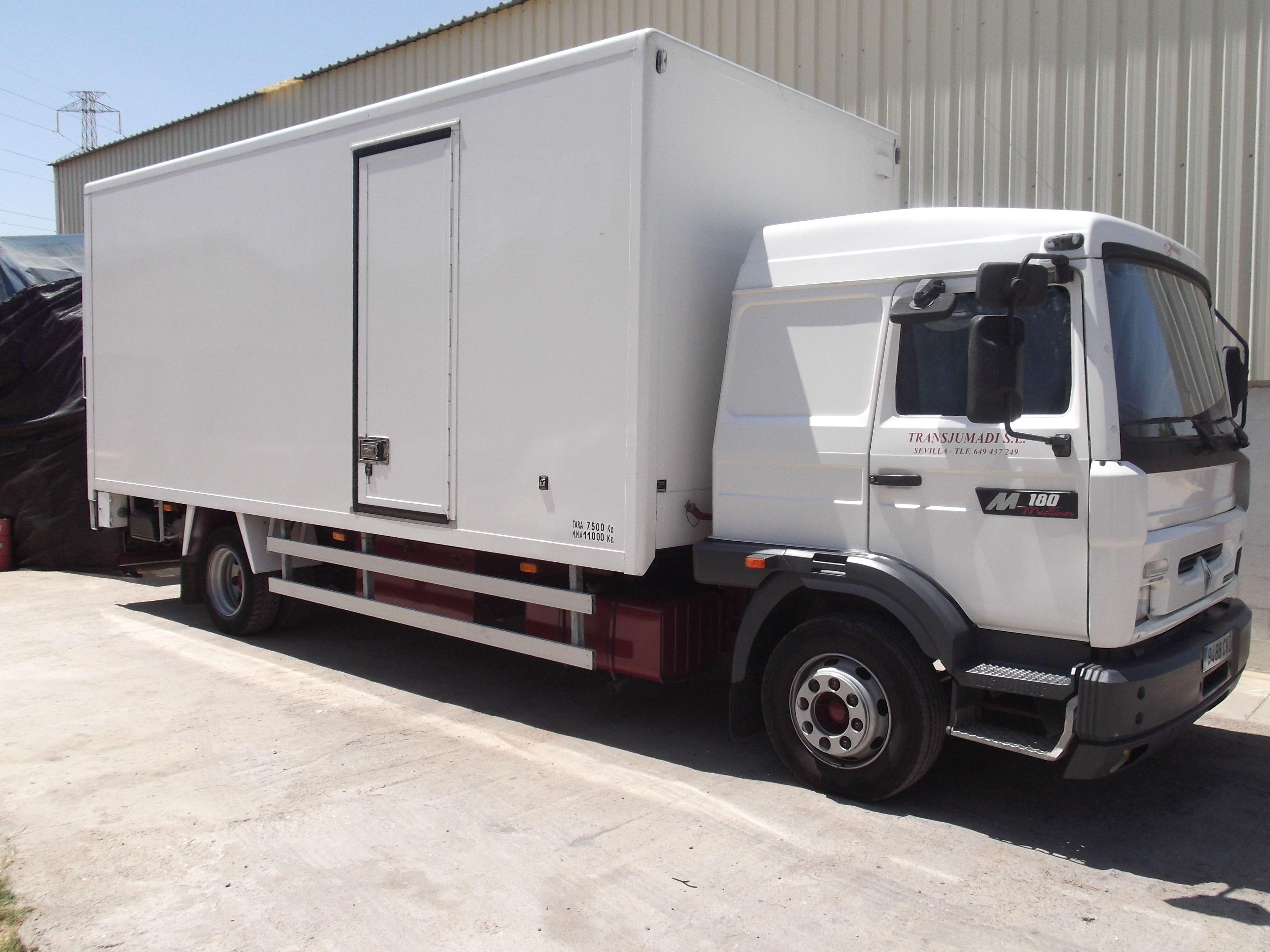 Camión para transporte audiovisual y cinematográfico