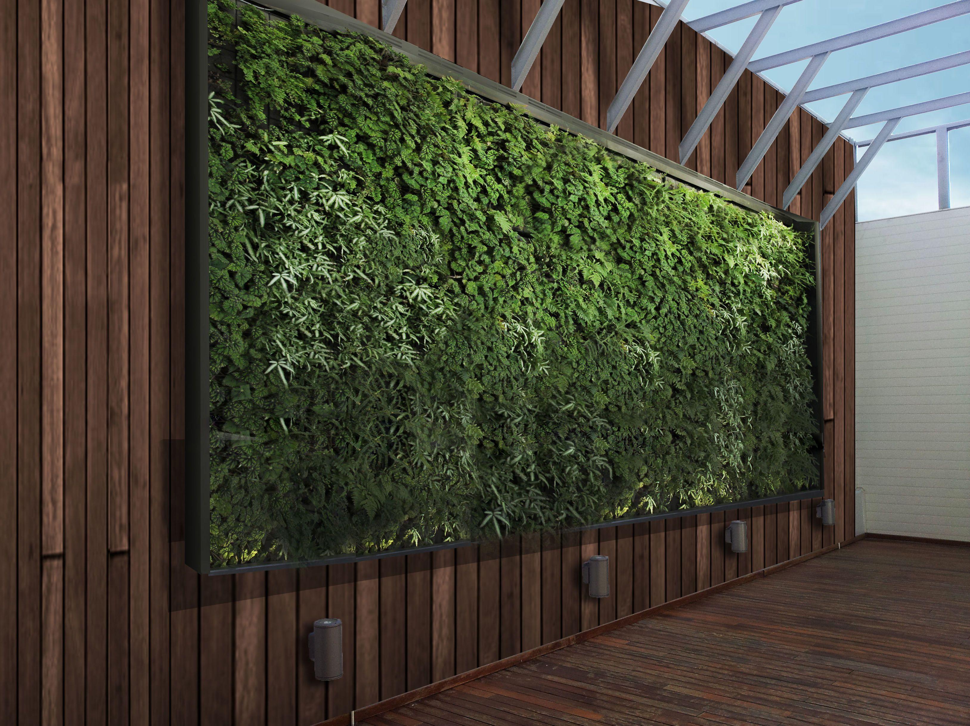 Jardines verticales for Diseno jardin interior