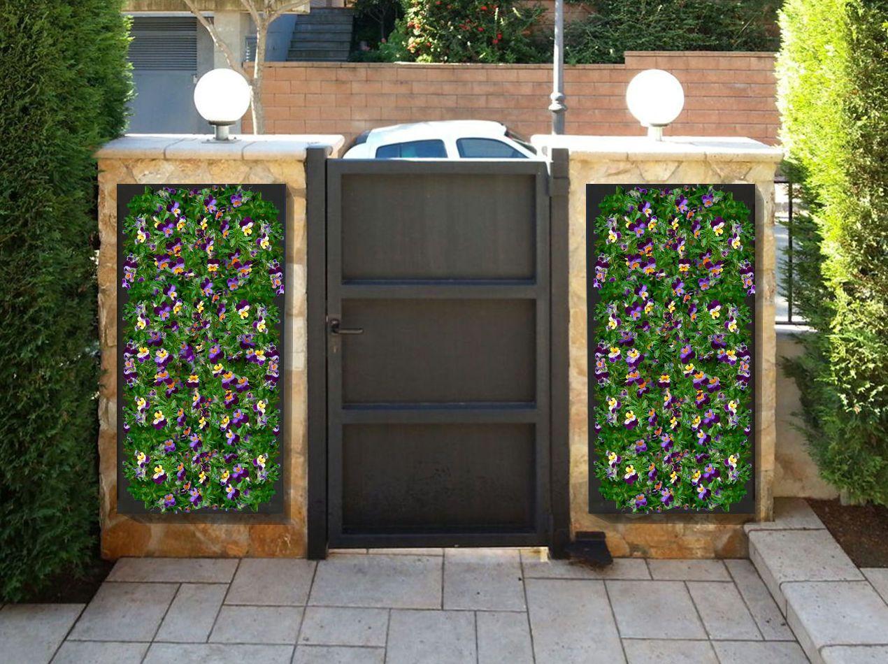 Jardines verticales en barcelon s aquaplant disseny verd for Imagenes de jardines verticales