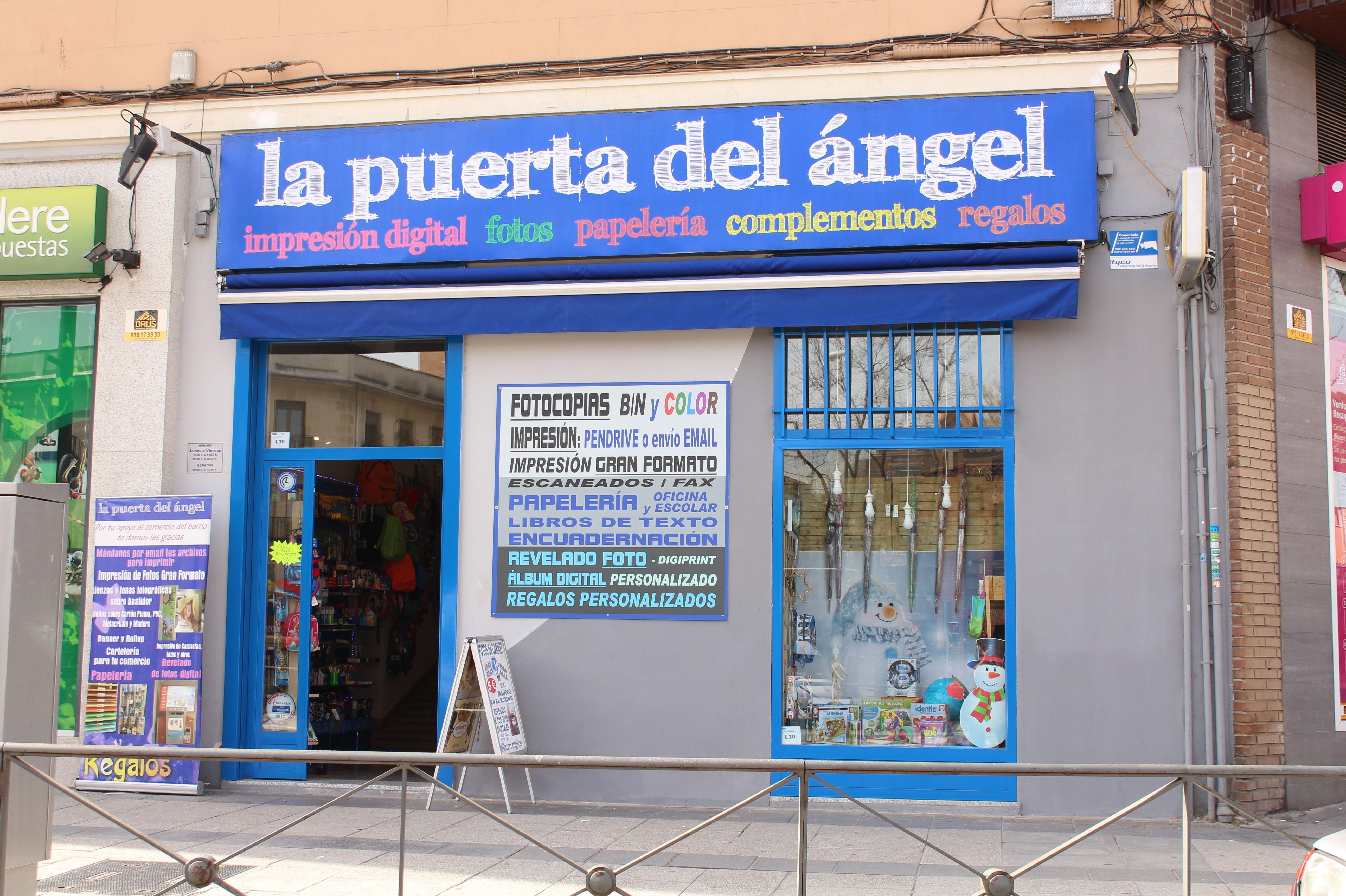 Foto 2 de reprograf a en madrid fotocopias puerta del angel - Inem puerta del angel ...