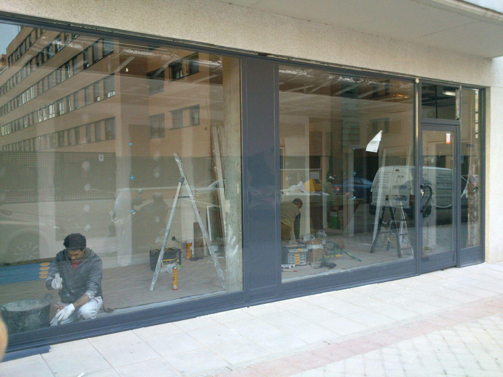 Foto 4 de carpinter a de aluminio met lica y pvc en madrid aluduvan - Carpinteria madrid centro ...
