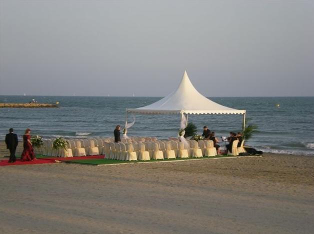 Instalación de carpas para cualquier evento