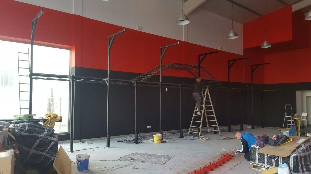 Pintado en gimnasio de inca c juan de austria - Gimnasio paredes ...