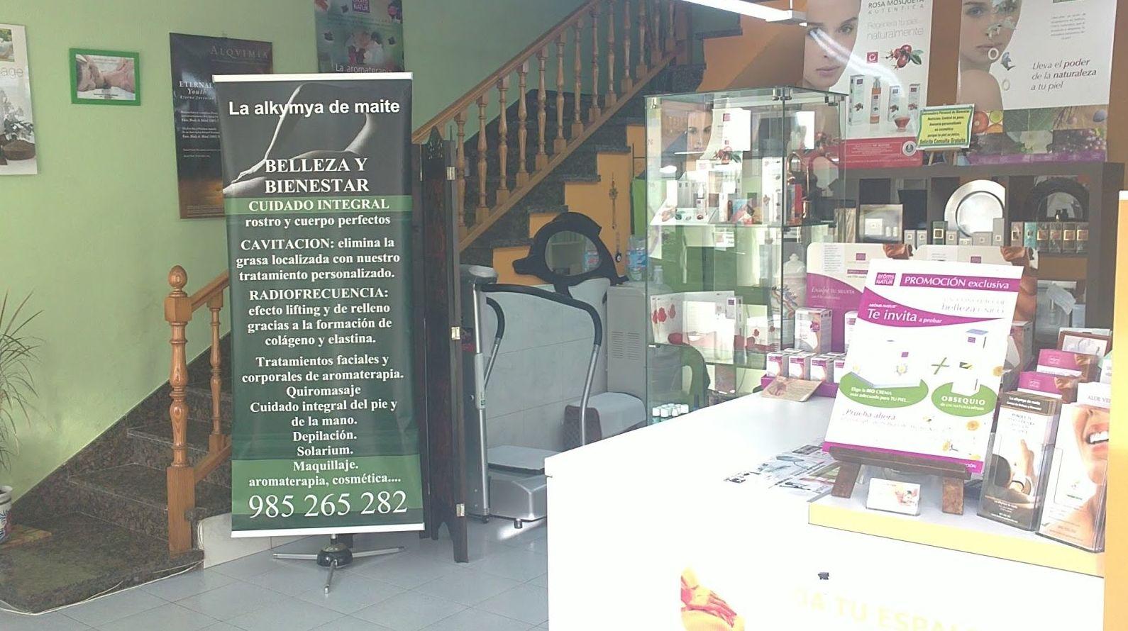 Nuestra tienda de productos de belleza y bienestar