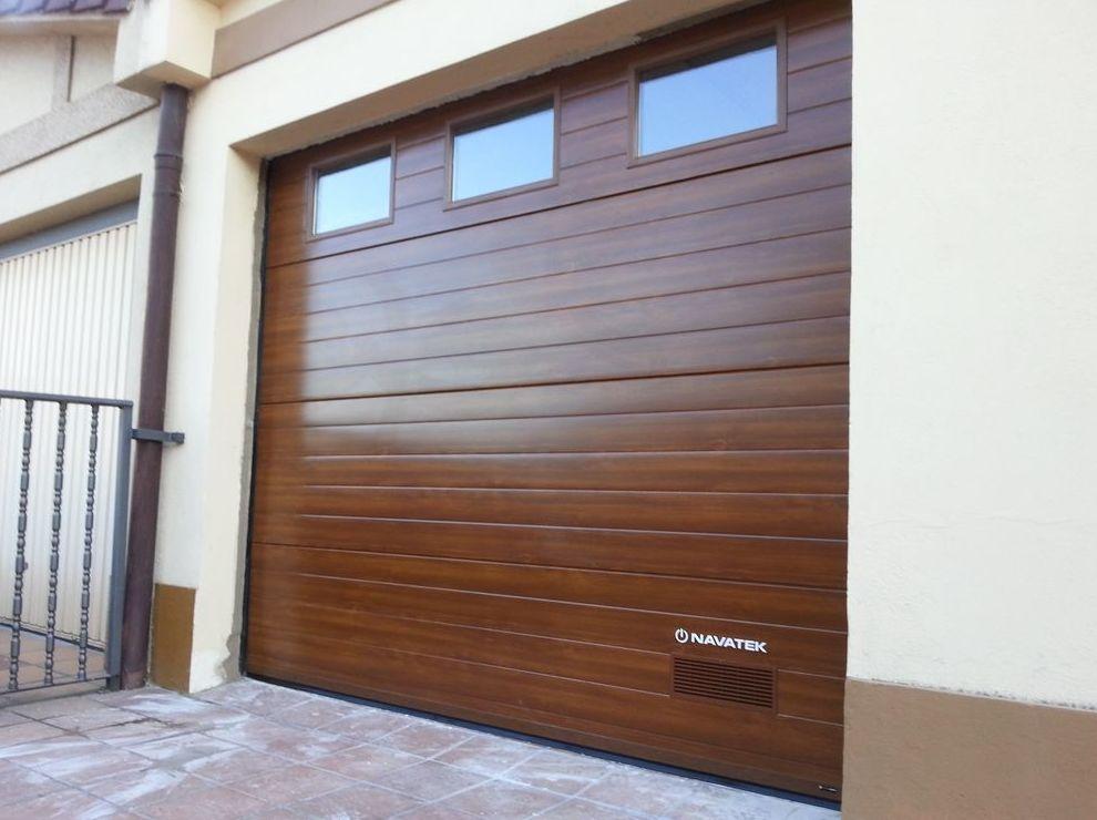 Puertas metalicas garaje awesome puertas metalicas garaje for Puertas automaticas garaje
