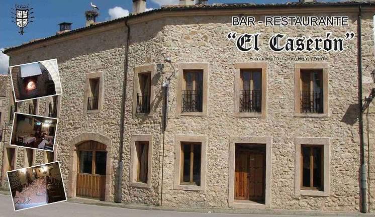 Foto 1 de Restaurante en San Pedro de Gaíllos | El Caserón