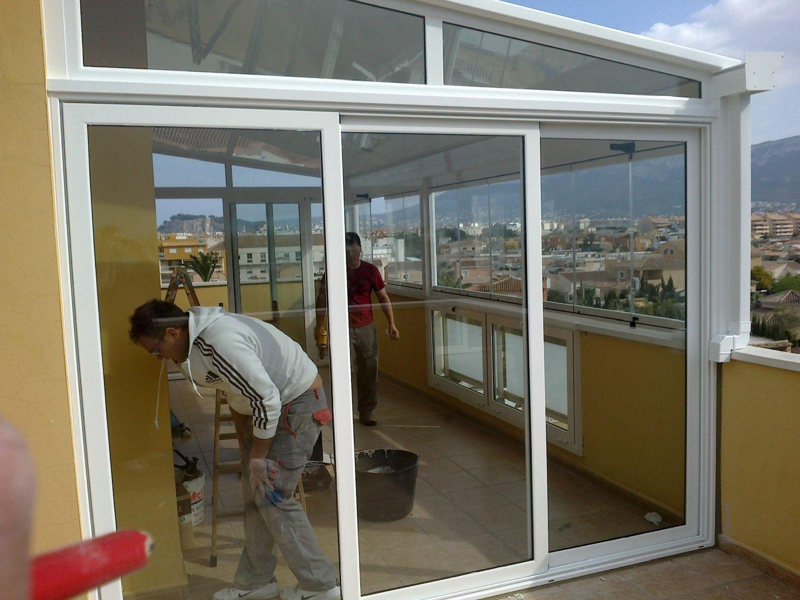 Foto 5 de carpinter a de aluminio met lica y pvc en for Cerramientos pvc