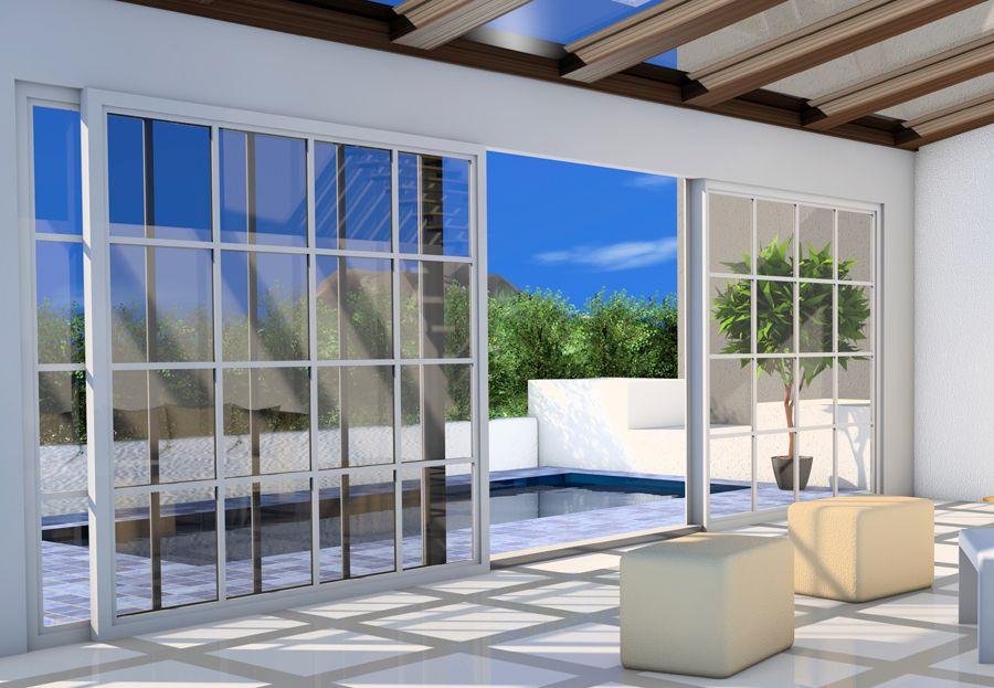 Cerramientos de aluminio en zaragoza puertas para terrazas - Puertas para terrazas ...