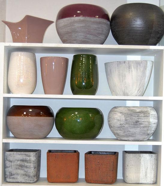 Maceteros de cerámica