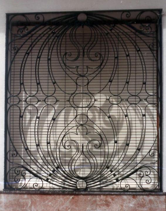 Forja artística y rejas de seguridad para ventanas