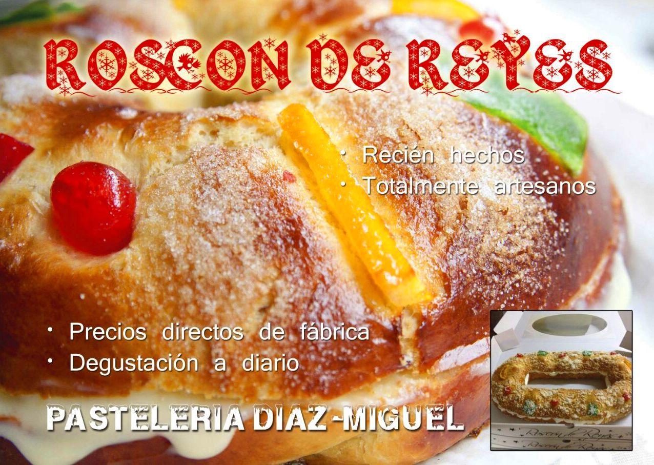 Roscones de reyes productos de pasteler a d az miguel - Roscones de reyes ...