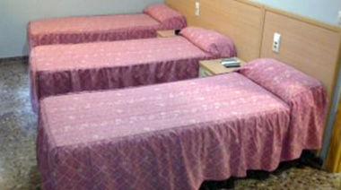Habitaciones equipadas con todos los servicios
