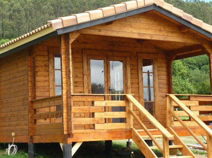 Diseos casas de madera casas madera modelos de casas sencillas casa madera diseo moderno - Casas de madera pontevedra ...
