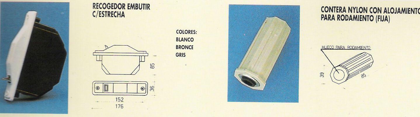 Cortinas De Baño Granada:Accesorios : Catálogo de Ventanas y Persianas Persiplast