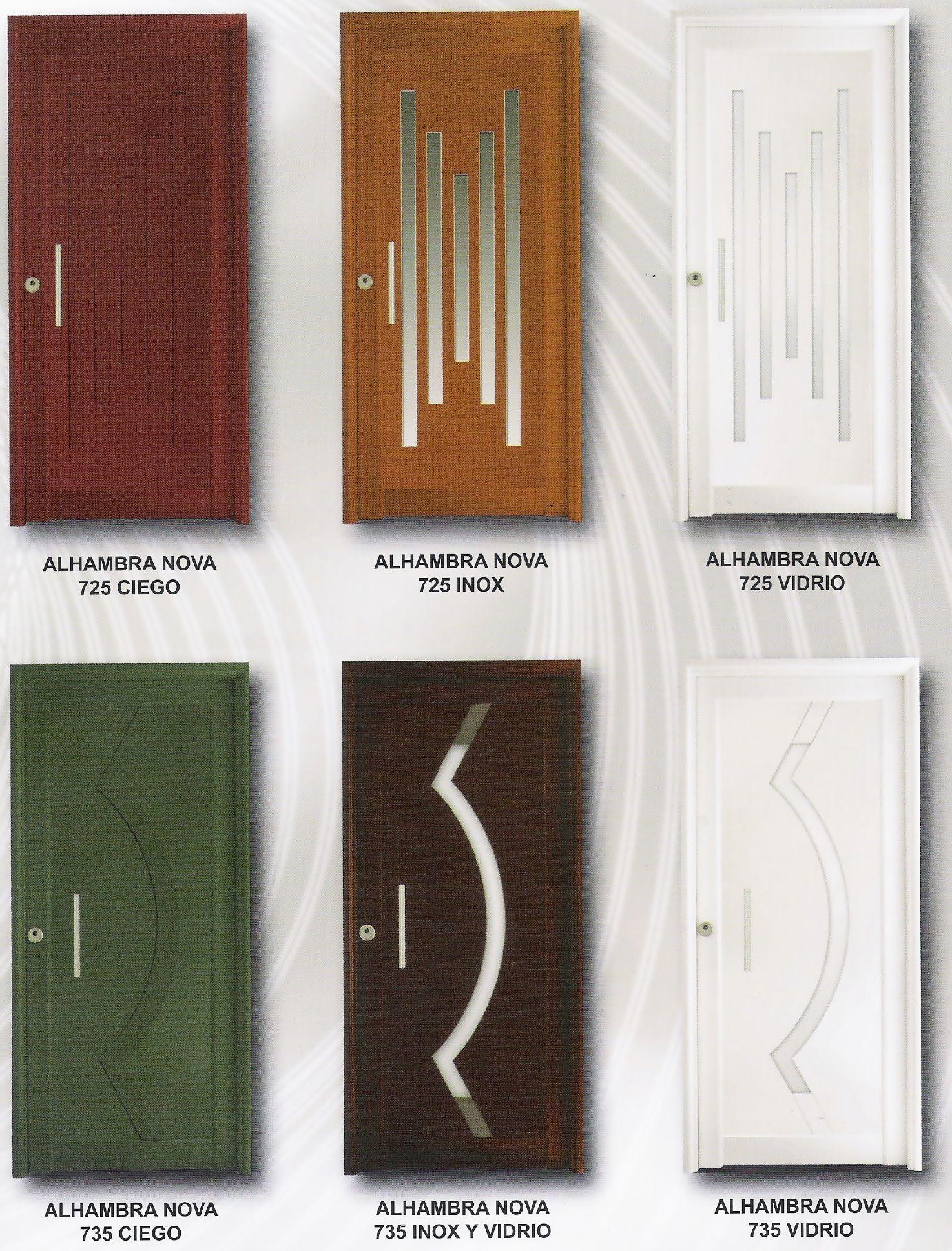 Puertas modernas de herreria tattoo design bild - Puertas de madera para entrada principal ...