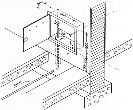 Puerta y armario para contador modelo d2 productos y for Caja contador agua