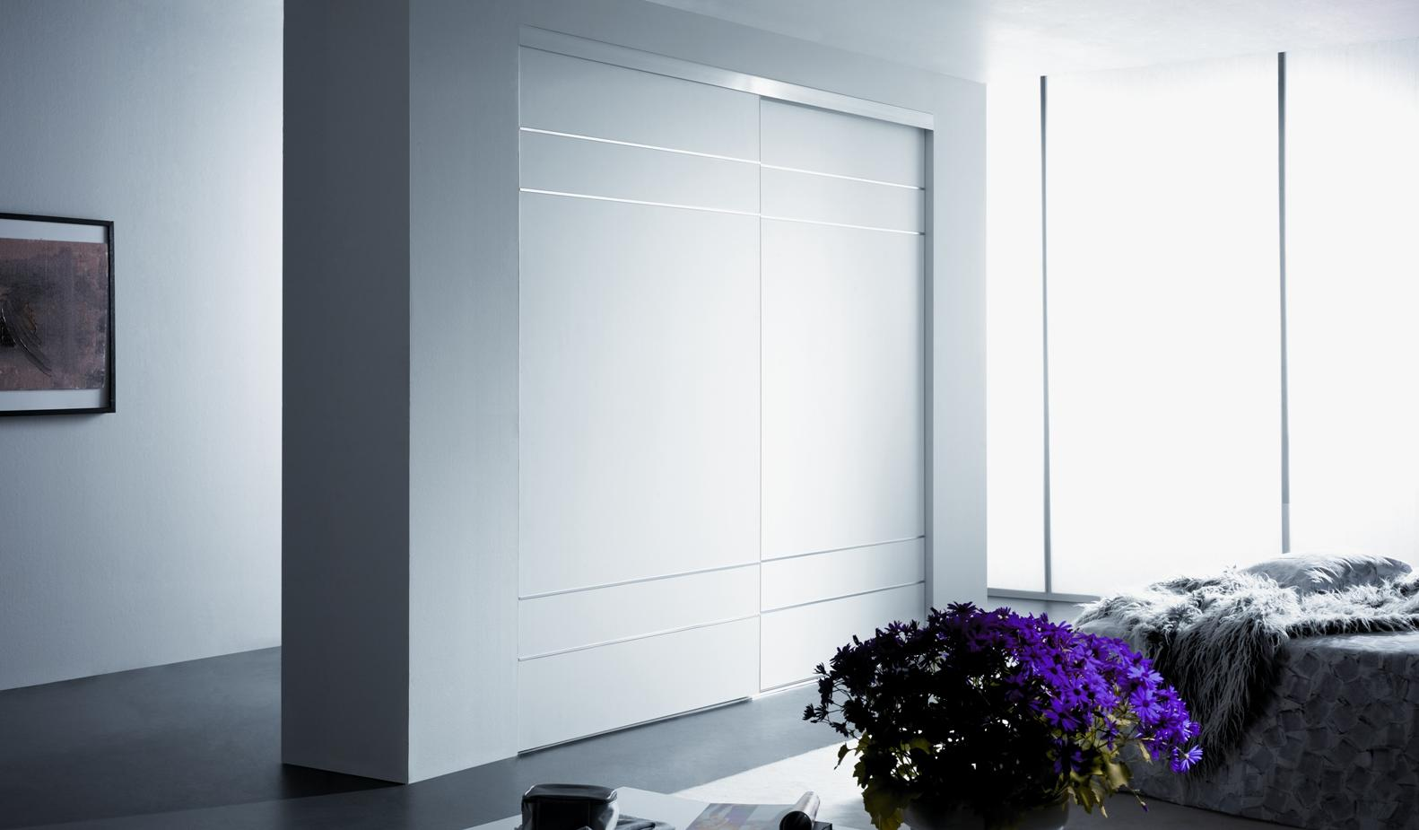 Modern sliding closet doors lowes amazing accordion for Custom closet doors los angeles