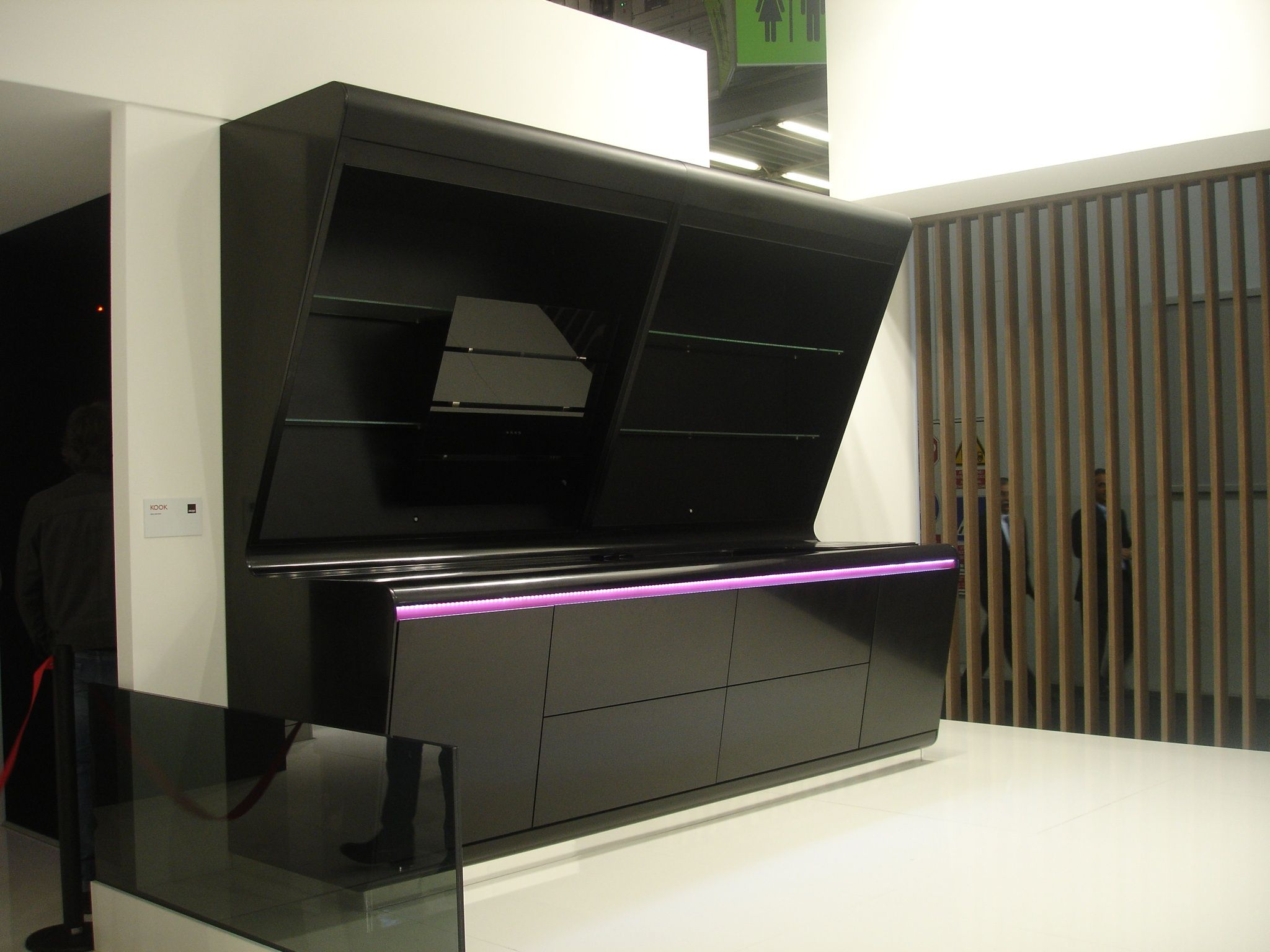 Cocina en negro brillo cat logo de muebles fhoa - Muebles de cocina en asturias ...