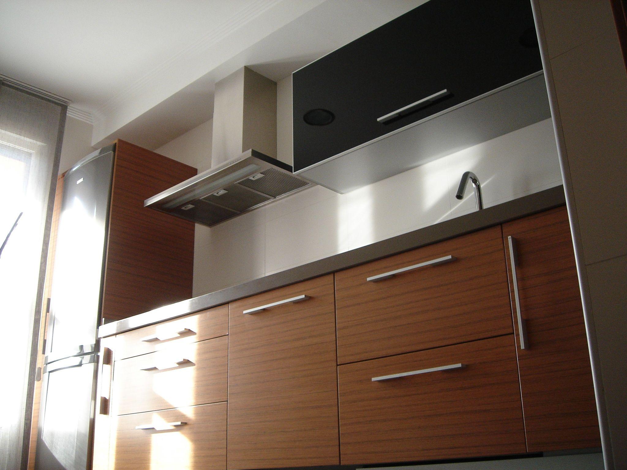 Cocina en madera cat logo de muebles fhoa - Muebles de cocina en asturias ...