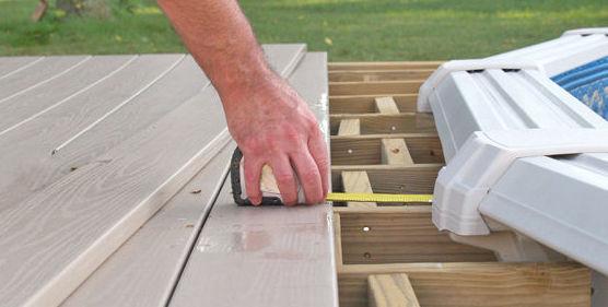 suelos de madera para exterior escaleras